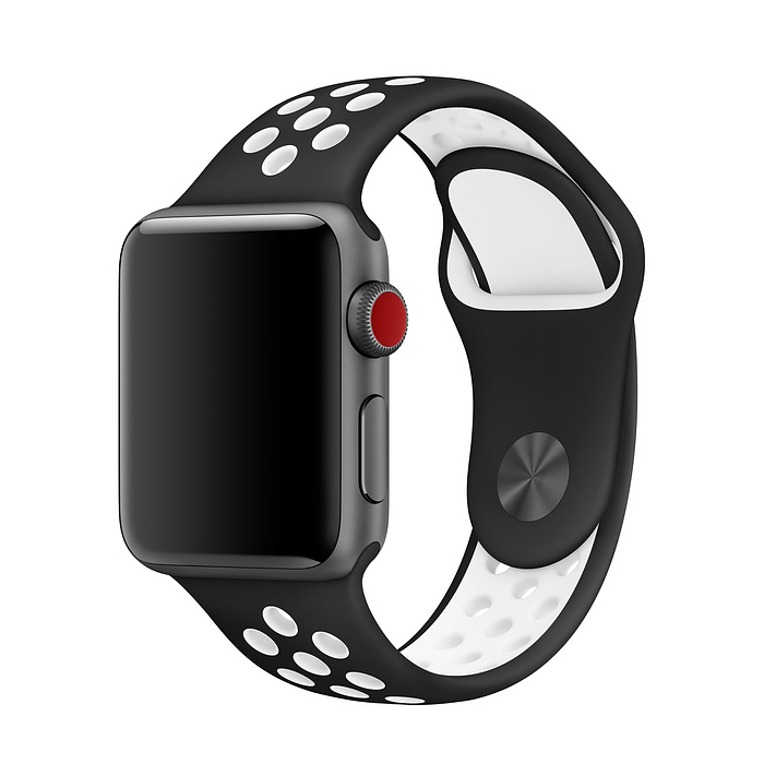 Apple Watch Band Perforated Sport Wristband Sillicone