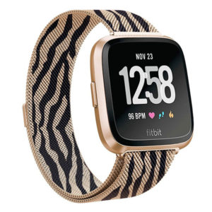 1429adb3f 2018 New Fitbit Versa Stainless Steel Magnetic Milanese Loop Replacement  Mesh Watch Band Amazon. $12.99. Apple Watch Band Released Splendid ...